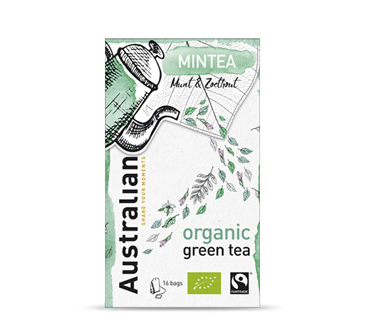 Green tea Mintea 16 x 1,6 gram fairtrade organic