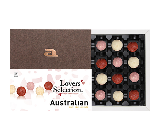 16-pack chocolate lovers selection pink