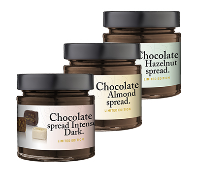 3-pack limited chocolate spreads