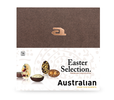 Nieuw! 9-pack chocolate cracked easter eggs